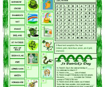40 FREE Saint Patricks Day Worksheets