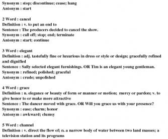 97 Free Synonyms Antonyms Worksheets