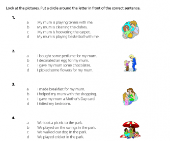 46 FREE Mother's Day Worksheets and Lesson Plans