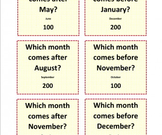 108 Free Months Days Of The Week Worksheets Months Of The Year Sequence Sheets 12 Months Make A Year Game