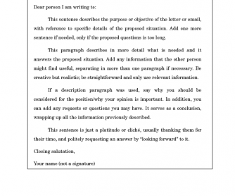 formal and informal emails format for fce and cae - 40 What Is The Proper Format For A Business Letter Practical