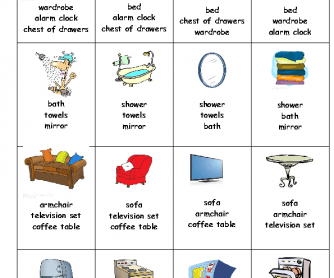 271 Free House Flat Rooms Worksheets