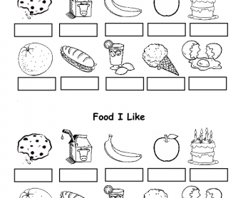 420 Free Food Worksheets