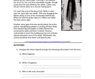 216 free past continuous worksheets urban legends for high school students solutioingenieria Image collections
