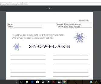 357 FREE Christmas Worksheets, Coloring Sheets, Printables ...