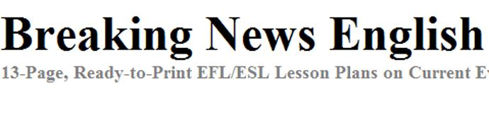 http://www.breakingnewsenglish.com/