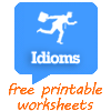 168 FREE Idiom Worksheets