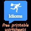 168 FREE Idiom Worksheets Grammar, Idioms, LanguageArts worksheet for Grade 5 at myTestBook …