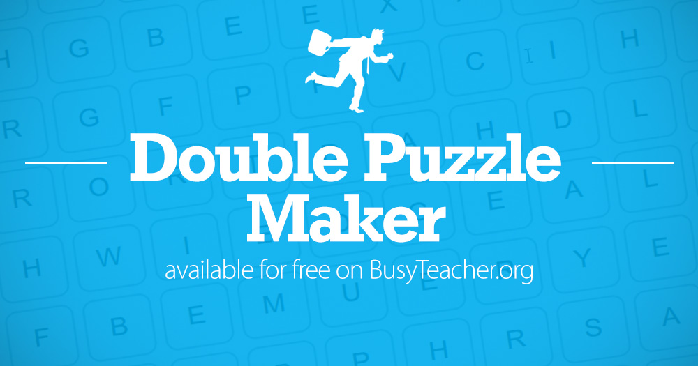 Double Puzzle Maker Make Your Own Now