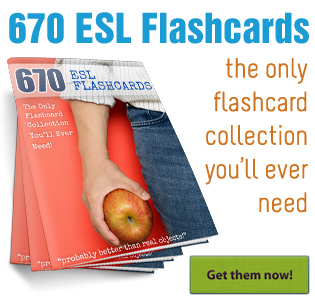 Busy Teacher's 670 ESL Flashcards
