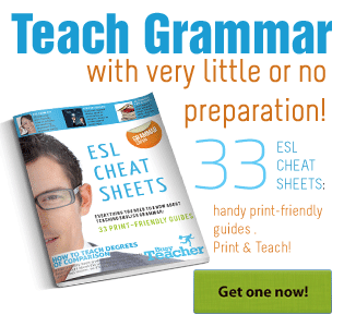 Busy Teacher's ESL Cheat Sheets: Grammar Edition