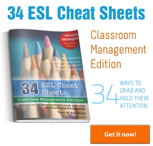 34 ESL Cheat Sheets: Classroom Management Edition