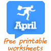 April worksheets