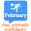 44 FREE February Worksheets for Your ESL Classes