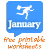 60 FREE January Worksheets for Your ESL Classes