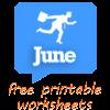 June worksheets