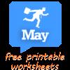 May worksheets