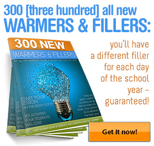 300 New Warmers, Fillers and Ice-Breakers!