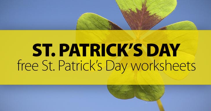 40 FREE Saint Patrick's Day Worksheets