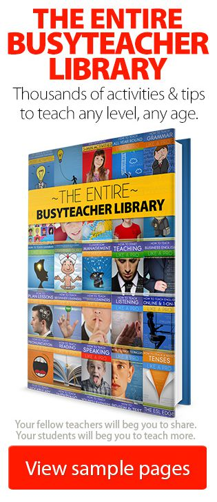 Get the Entire BusyTeacher Library for Only $99.99!