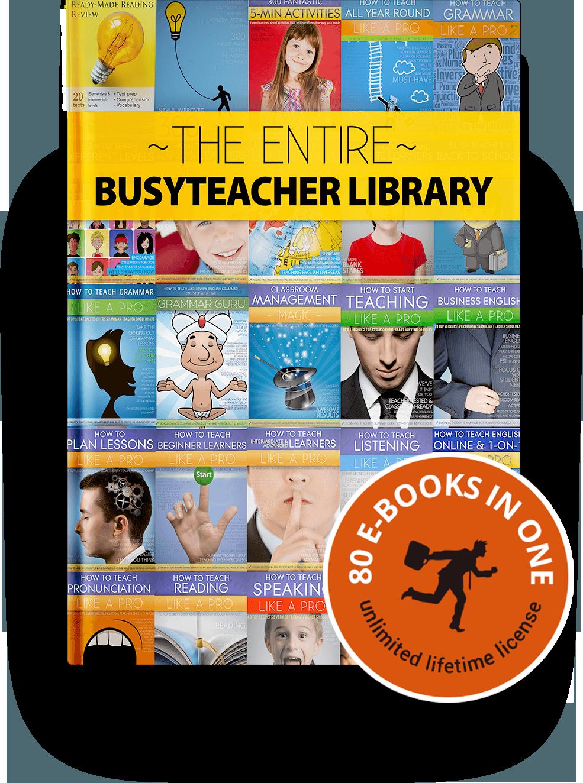 Bibliothèque entière de BusyTeacher