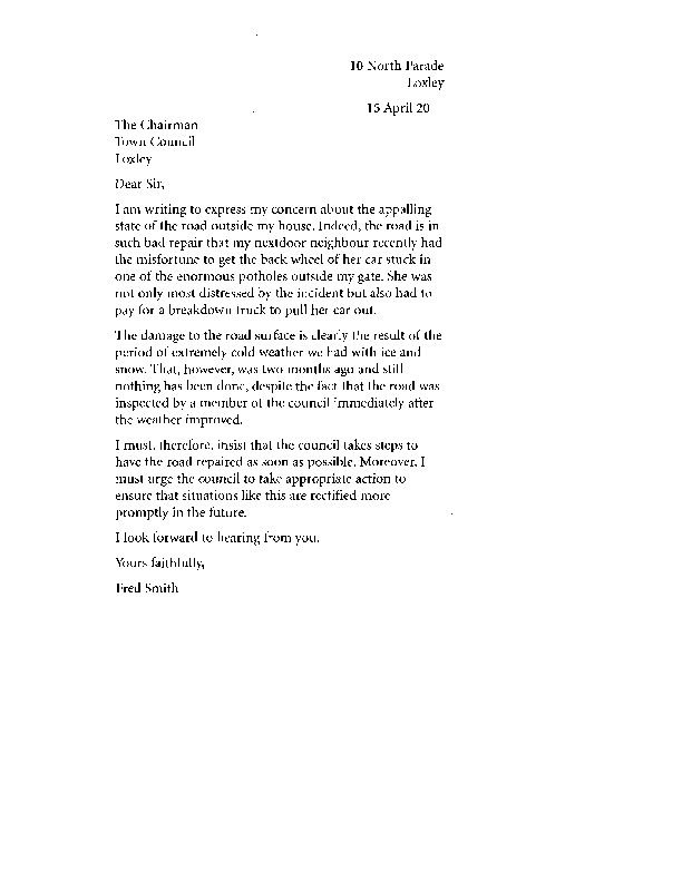 how to make a formal complaint about a teacher