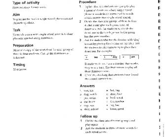 Single vowel dominoes