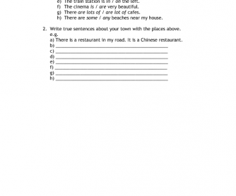 CUTTING EDGE STARTER WORKSHEET - Module 4
