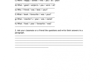CUTTING EDGE STARTER WORKSHEET - Module 9