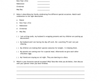 CUTTING EDGE PRE-INTERMEDIATE WORKSHEET module 4