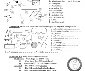 Describing Things/Objects