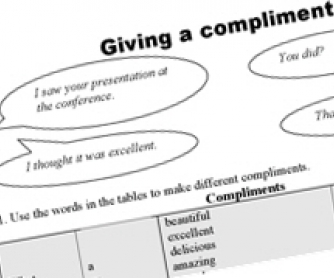 Giving Compliments - Pre-Intermediate Speaking Lesson