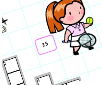 Colourful Sports Crossword for Elementary Students