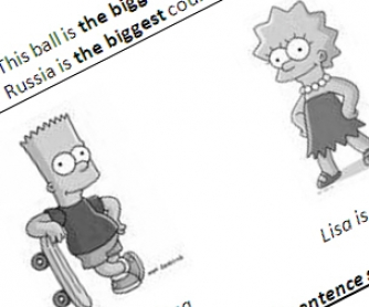 Degrees of Comparison: Formation and Spelling Rules Worksheet