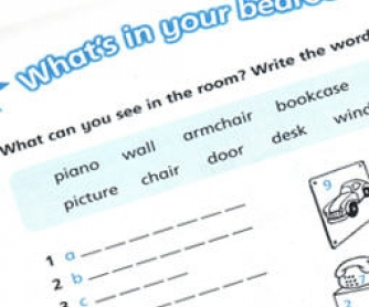 Room and Furniture Worksheet