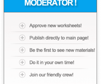 Moderators Wanted! Become a Part of BUSYTEACHER.org Friendly Team!