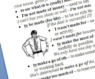 Phrasal Verbs With Make and Do