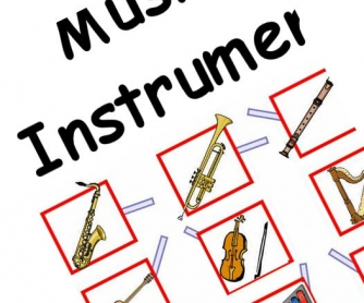 Musical Instruments Target Board