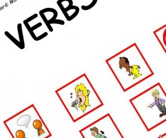 Verbs Target Board