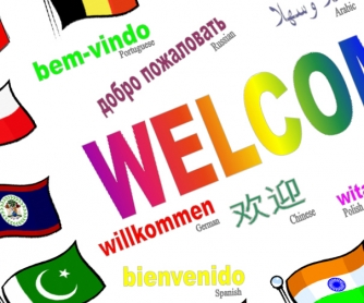 -Welcome- Back To School Poster in Many Languages Part One