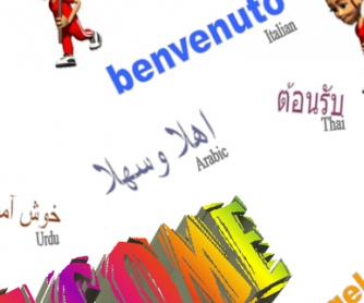 Welcome: Poster in Many Languages Part Two