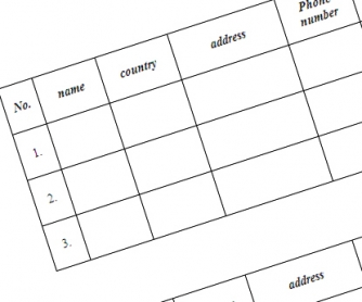 Personal Information Classwork Worksheet: Mingling Activity