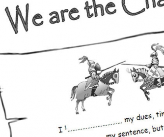 Song Worksheet: We are the Champions (WITH VIDEO)