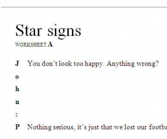 Star Signs - Who Believes in the Horoscope?