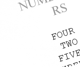 Numbers (1-10)