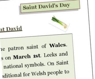 St David Day
