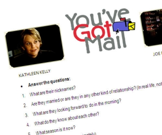 You've Got Mail - film-based worksheet