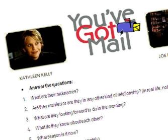 You've Got Mail - film-based worksheet