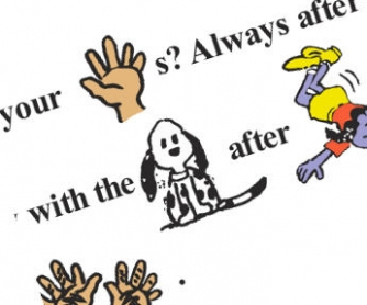 Wash Your Hands: Elementary Worksheet