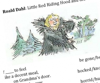Roald Dahl: Little Red Riding Hood - Poem